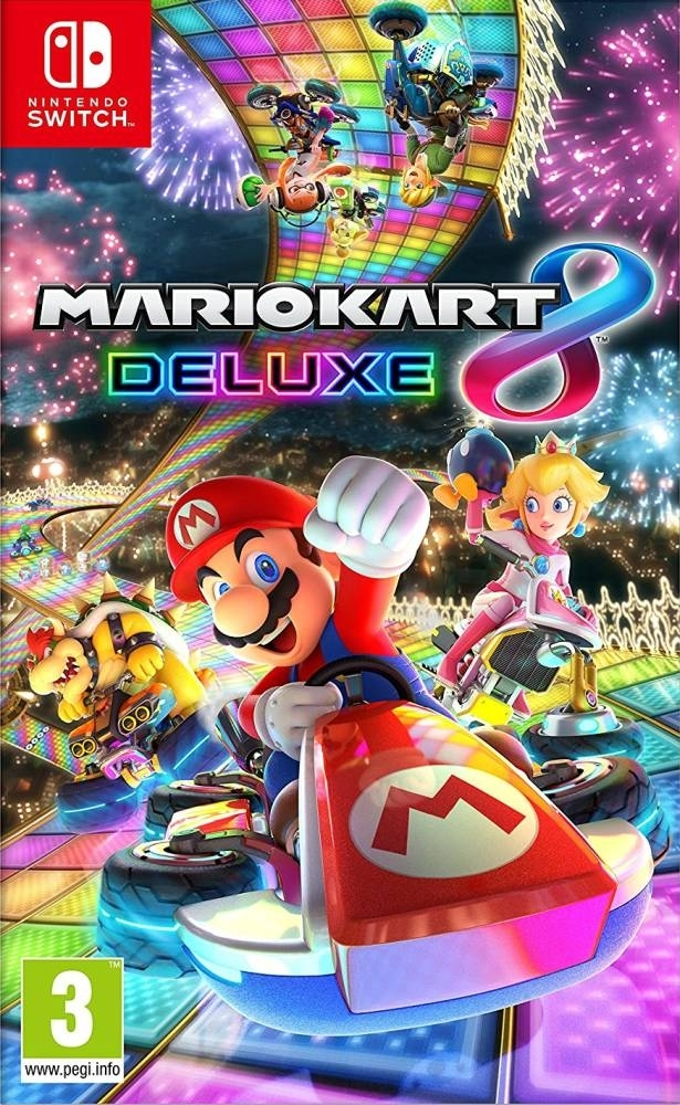 Mario Kart 8 Deluxe Nintendo Switch (BLACK FRIDAY)